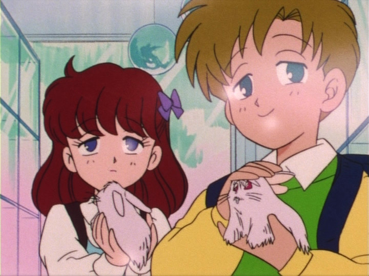 Sailor Moon episode 5 - Mika and Shingo hypnotized by the Chanela
