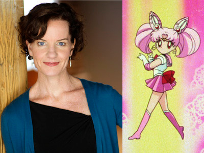 Tracey Hoyt, the voice of Rini/Sailor Chibi Moon