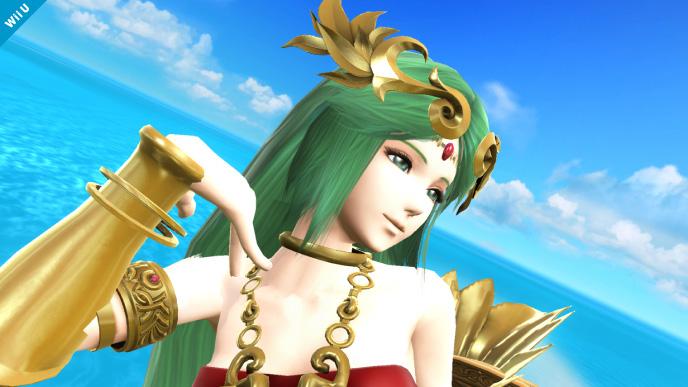 Palutena from Super Smash Bros. Wii U