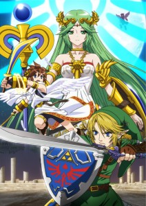 Palutena from Super Smash Bros. Wii U and 3DS
