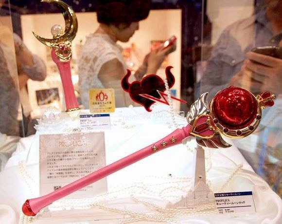 Proplica Cutie Moon Rod at the Tokyo Toy Show 2014