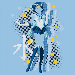 Sailor Mercury shirt at Pop Up Tee