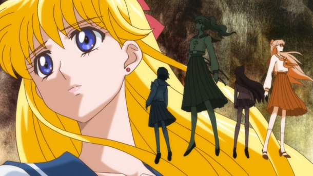 Sailor Moon Crystal episode 01 - Minako