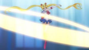 Sailor Moon Crystal episode 01 - Moon Tiara Action