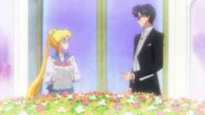 Sailor Moon Crystal episode 01 - Usagi and Mamoru