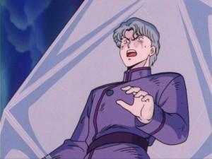 Sailor Moon episode 13 - Jadeite frozen