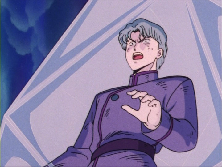 Sailor Moon episode 13 - Jadeite frozen