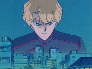 Sailor Moon episode 13 - Jadeite illusion over the city