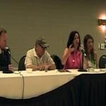 Sailor Moon Resurgent Panel at Anime North 2014 - Toby Proctor, John Stocker, Linda Ballantyne, Katie Griffin and Susan Roman