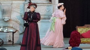 Jill Frappier as Lady Bracknell in The Importance of Being Earnest