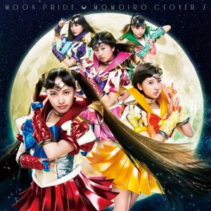 Moon Pride by Momoiro Clover Z - CD box art