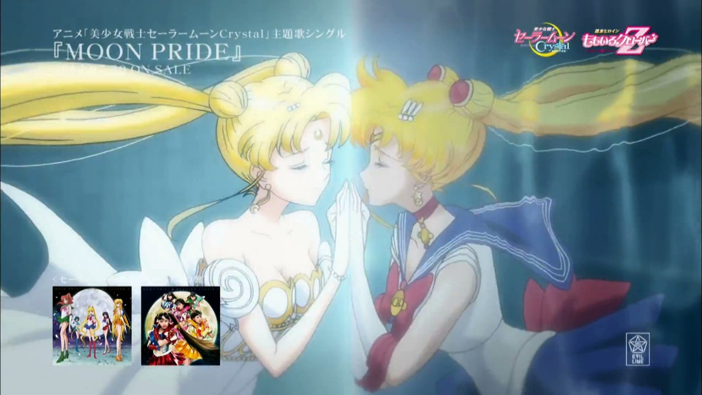Moon Pride music video - Serenity and Sailor Moon