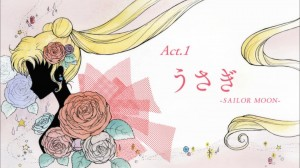 Sailor Moon Crystal Act.1 Usagi - Sailor Moon - Title screen