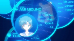 Sailor Moon Crystal Act.2 Ami - Sailor Mercury - Ami's computer bio
