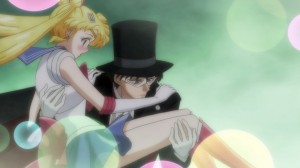 Sailor Moon Crystal Act.2 Ami - Sailor Mercury - Sailor Moon and Tuxedo Mask