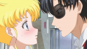 Sailor Moon Crystal Act.2 Ami - Sailor Mercury - Usagi and Mamoru