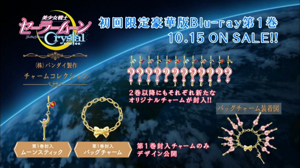 Sailor Moon Crystal DVD and Blu-Ray Charm Bracelet