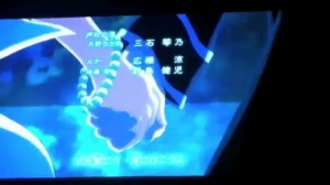Sailor Moon Crystal Ending - Serenity and Endymion holding hands