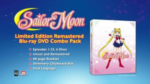 Sailor Moon DVD and Blu-Ray info