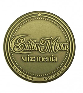 Sailor Moon DVD and Blu-Ray limited edition coin
