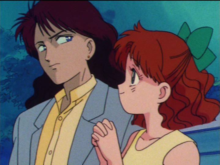 Sailor Moon episode 23 - Sanjoin Masato and Naru