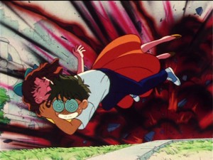 Sailor Moon episode 26 - Umino saving Naru