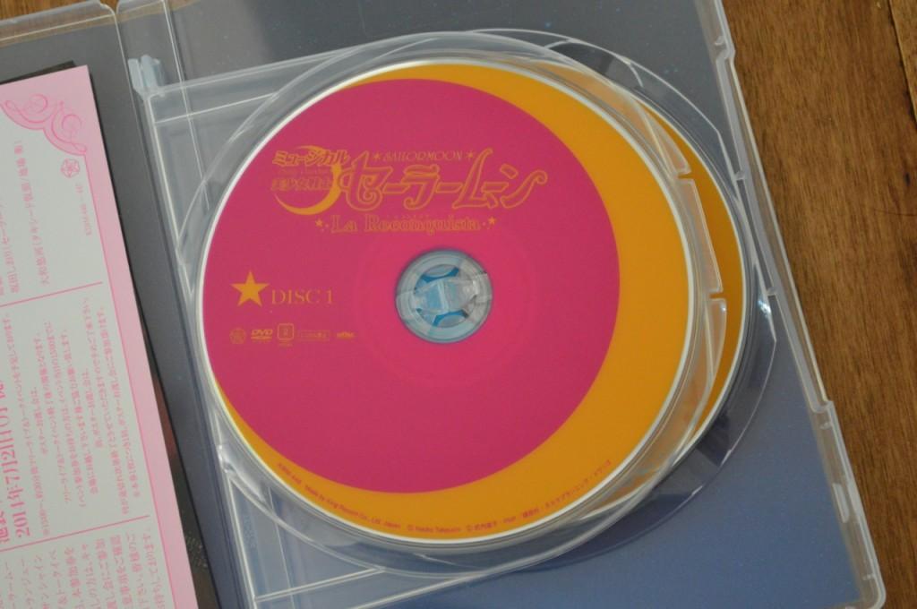 Sailor Moon La Reconquista Musical DVD - Disc 1
