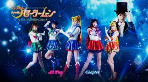 Sailor Moon La Reconquista Musical DVD - Disc 1 Main Menu