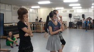 Sailor Moon La Reconquista Musical DVD - Special features - Rehearsal