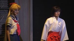 Sailor Moon La Reconquista Musical DVD - Minako and Rei