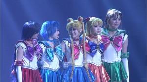 Sailor Moon La Reconquista Musical DVD - Sailor Mars, Mercury, Moon, Venus and Jupiter