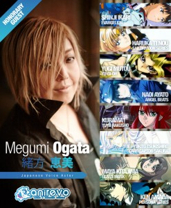 Megumi Ogata - the voice of Sailor Uranus at Anime Revolution