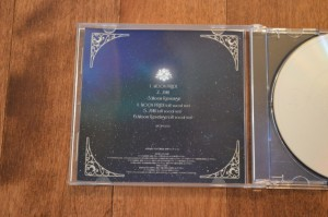 Moon Pride CD Single - CD Version - Insert