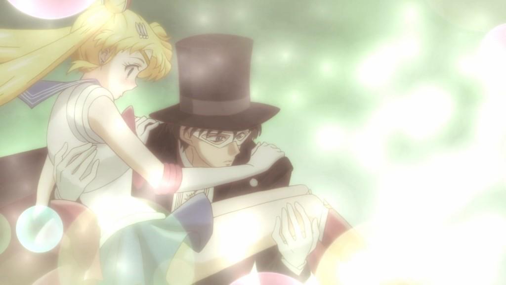 Sailor Moon Crystal Act 4, Masquerade Dance Party - Sailor Moon and Tuxedo Mask
