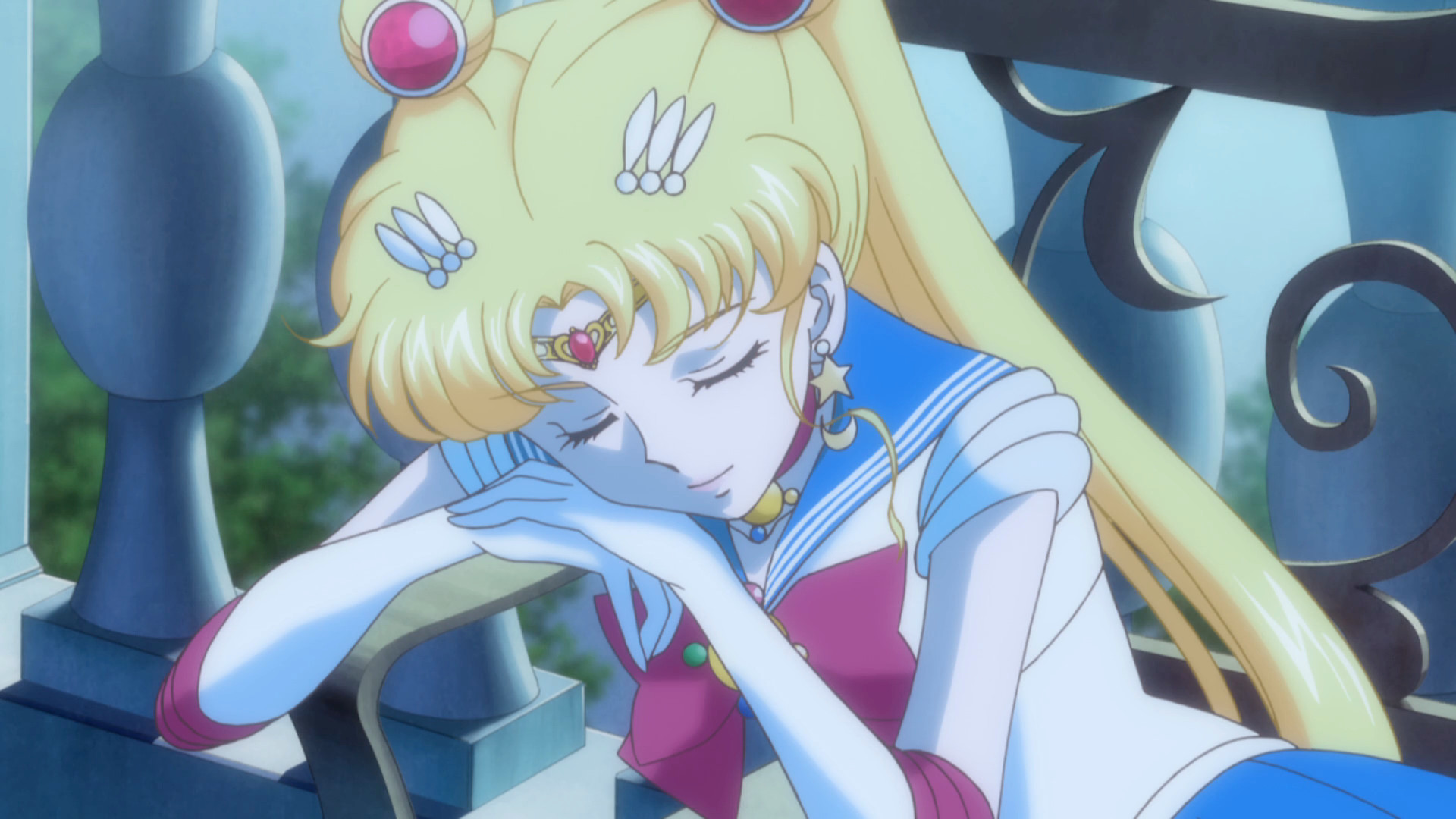 Sailor Moon Crystal Act 4 Sailor Moon Sleeping Sailor