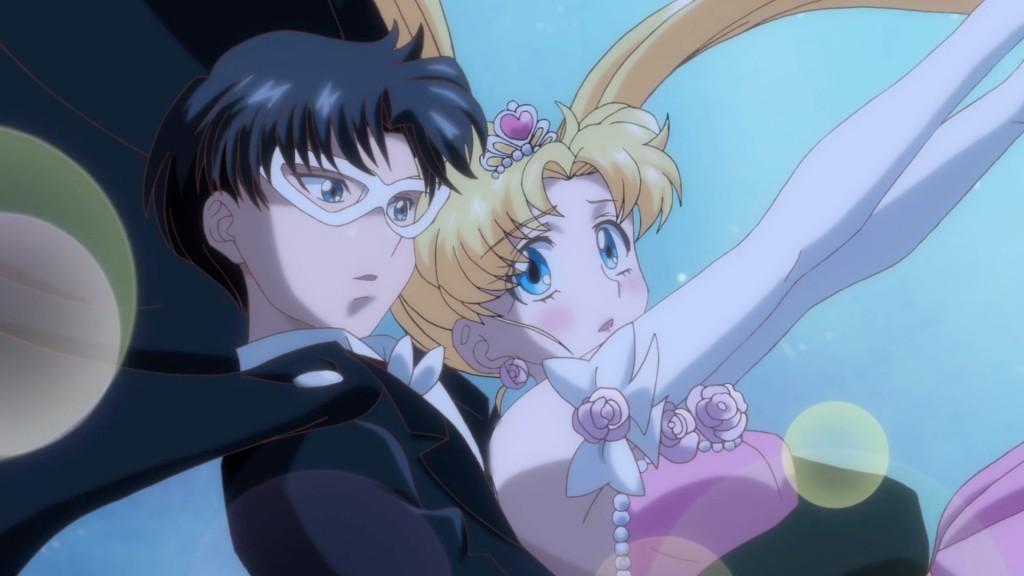 Sailor Moon Crystal Act 4 - Tuxedo Mask and Usagi