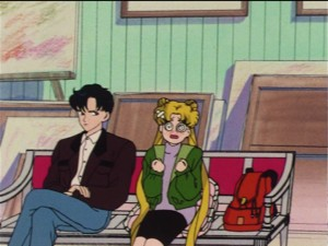 Sailor Moon episode 28 - Mamoru and Usagi