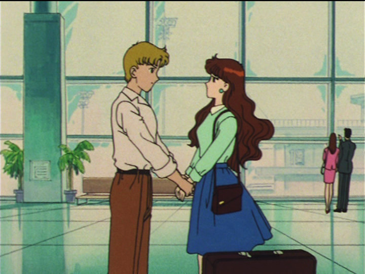 Sailor Moon episode 29 - Motoki and Reika