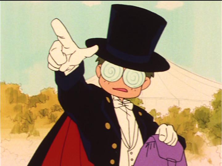 Sailor Moon episode 32 - Tuxedo Umino Kamen