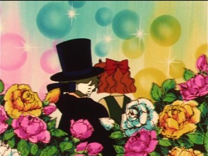Sailor Moon episode 32 - Tuxedo Umino Kamen and Naru
