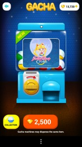 Sailor Moon in Line Play - Gacha - Gashapon Capsule Toy Machine