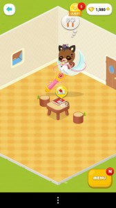 Sailor Moon in Line Play - Sitting on Moon Stick Chair