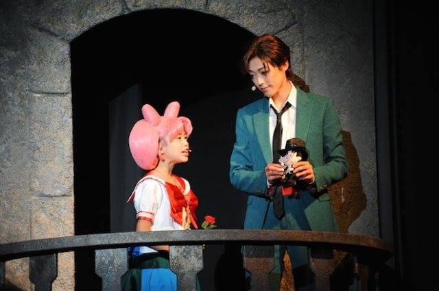 Sailor Moon - Petite Étrangère - Chibiusa, Mamoru and Tuxedo Mask Puppet