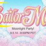 Moonlight Party - A Sailor Moon Slumber Party