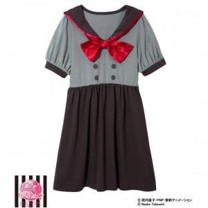 Rei's school uniform dress