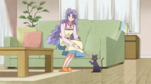 Sailor Moon Crystal Act 6 - Ikuko Mama and Luna