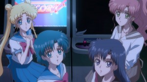 Sailor Moon Crystal Act 6 - Usagi, Ami, Rei and Makoto