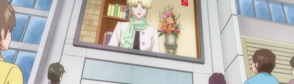 Sailor Moon Crystal Act 6 - Zoisite dressed as a woman