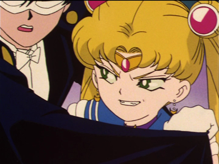 Sailor Moon episode 33 - Zoisite as evil Sailor Moon