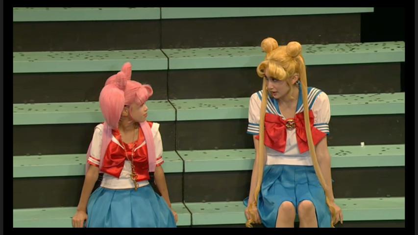 Sailor Moon Petite Étrangère musical - Chibiusa and Usagi